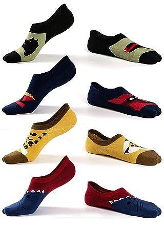 Wählen Sie für neueste 2019 am besten neuer Stil von 2019 Herren Sneakersocken unsichtbare Füßlinge Baumwolle, Männer Invisible Socks  Kurze Sport laufende Socken, rutschfest, 4/5 Paare