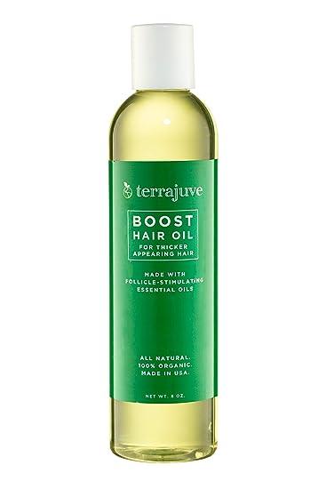 Amazon.com: Aceite para el cabello Terrajuve Boost para un ...