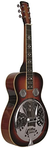 Gold Tone Paul Beard Signature Series PBS-D Squareneck Resonator Deluxe Guitar (Tobacco Sunburst)