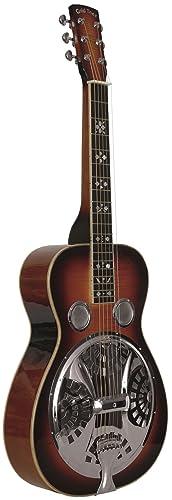 Gold Tone Paul Beard Signature Series PBS-D Squareneck Resonator Deluxe Guitar (Tobacco Sunburst)