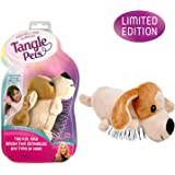Tangle Pets PEPPER THE PUPPY- The Detangling Brush in a Plush