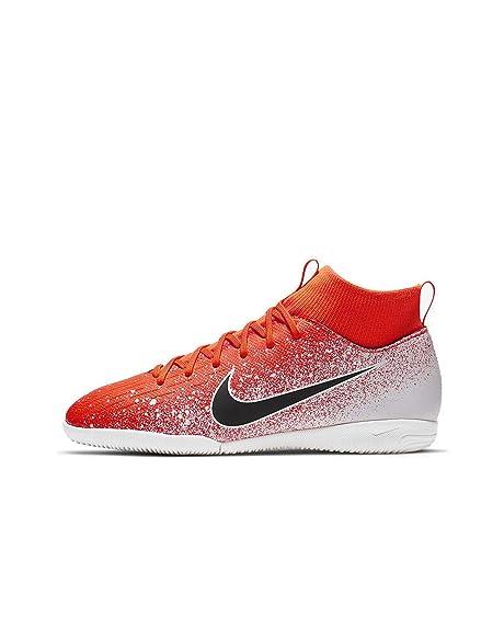 Nike Jr Superfly 6 Academy GS IC, Zapatillas de fútbol Sala Unisex niño, (Hyper Crimson/Black/White 000), 37.5 EU: Amazon.es: Zapatos y complementos