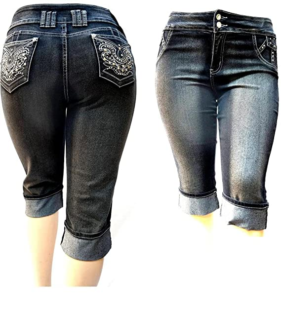 Amazon.com: D & B Plus tamaño de la mujer Stretch Premium ...