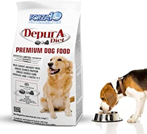 Forza10 Active Depura Daily Dry Dog Food, 22 Pounds Limited Ingredient Gluten Free All Natural Ingredients Omega 6 Veterinarian Recommended Fish Dogs