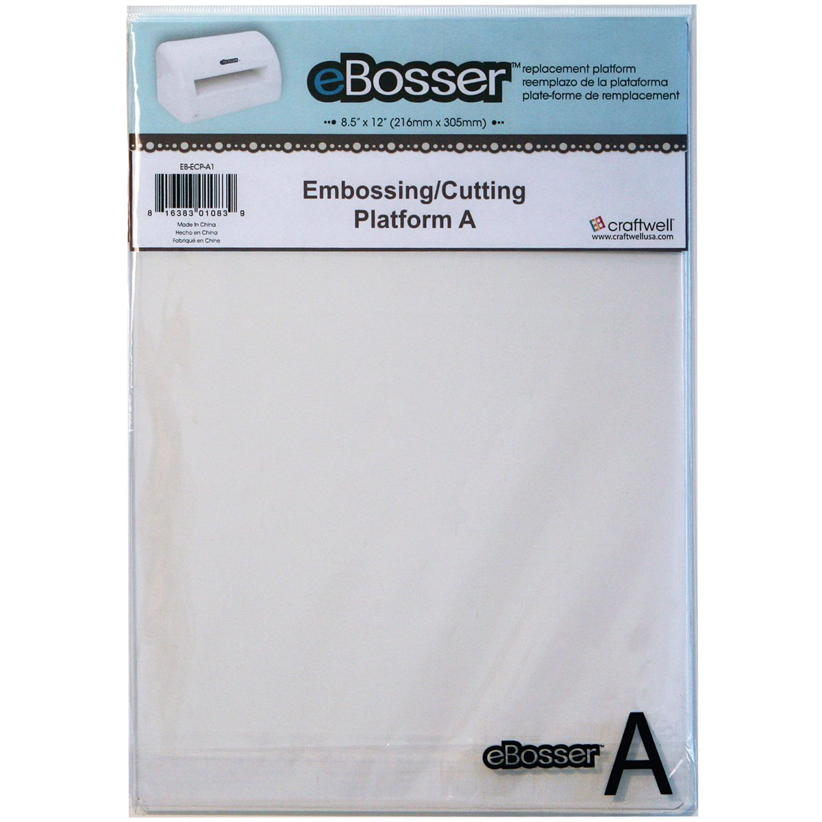 Craftwell eBosser Embossing/Cutting Platform A 8.5