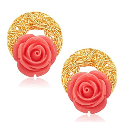 c60d2be7b Buy Sukkhi Classic Gold Plated Earrings For Women Online at Low Prices in  India | Amazon Jewellery Store - Amazon.in