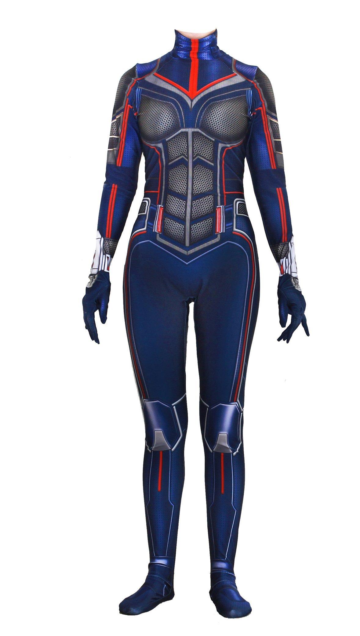 - 71G0SIVHeiL - Riekinc Spandex Bodysuit Womens Zentai Suits Cosplay Costume Audlt/Kids