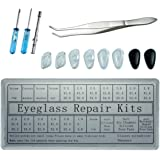 Eyeglass Repair Kit, Nose Pads Sunglasses Ultra-soft Air Chamber Silicone Nose Pads