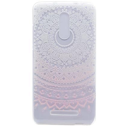 Para Xiaomi Redmi Note 3 / Note 3 Pro (5,5 pulgadas) Cáscara ZeWoo® Carcasa y Funda de Silicona - MM057 / Encaje rosa