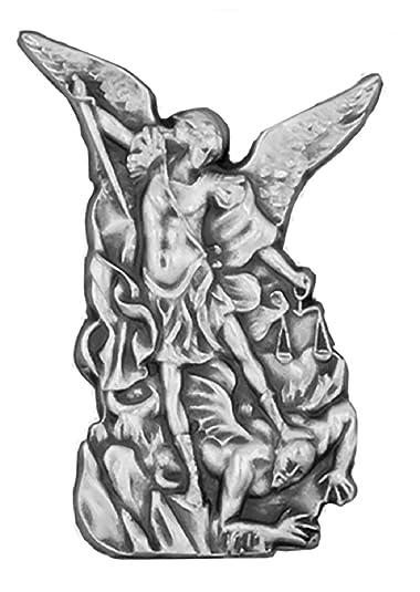 Venerare Saint Michael The Archangel Lapel Pin
