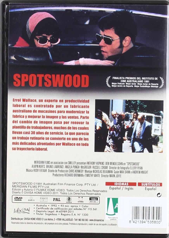 Amazon.com: Spotswood (Import Movie) (European Format - Zone 2): Movies & TV