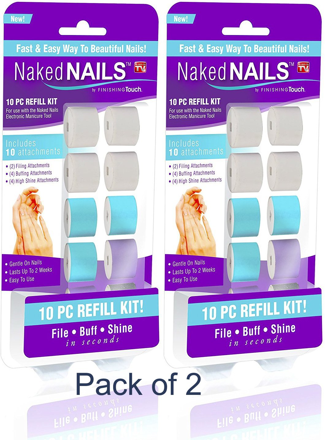 Amazon.com : Finishing Touch Naked Nails Electronic Nail