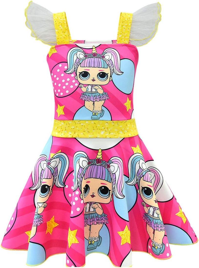 Lol Surprise!! Dolls Cosplay Girl Swimwear Child Kid One-piece Swimsuit Costume