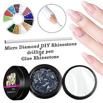 Nail Art Rhinestnail Art Rhinestones Set Saviland Glitter Micro