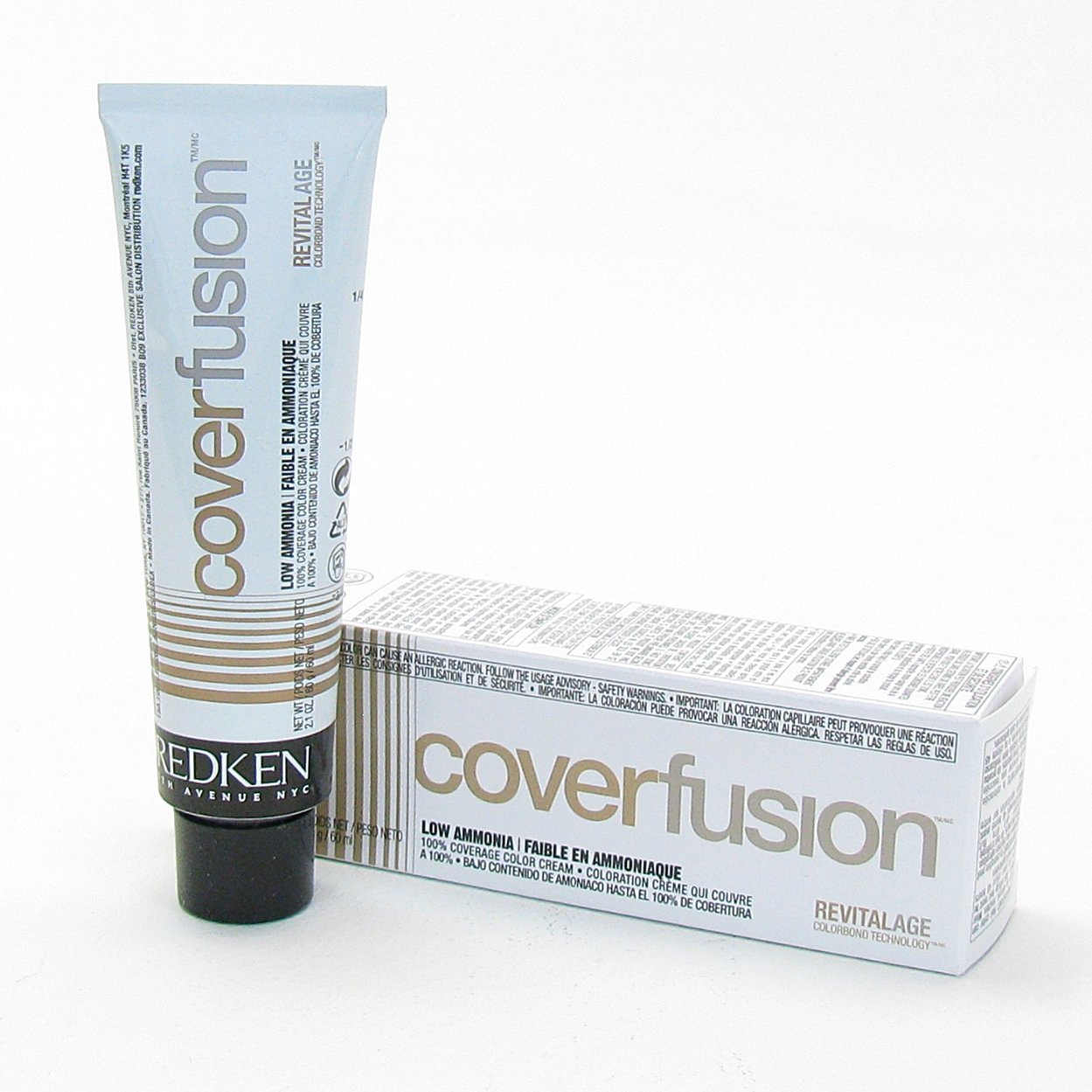 Redken Cover Fusion Low Ammonia Natural Hair Color N
