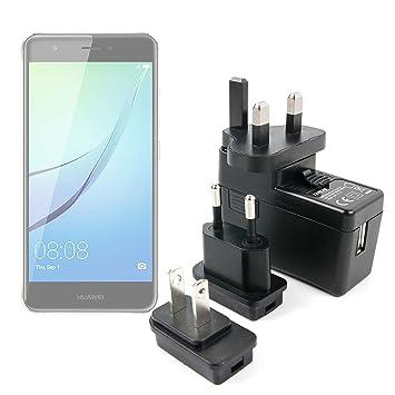 DURAGADGET Kit De Adaptadores con Cargador para Smartphone Huawei ...