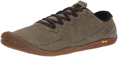 uk availability d4da5 786b7 Merrell Vapor Glove 3 Luna Leather Men 7 Dusty Olive