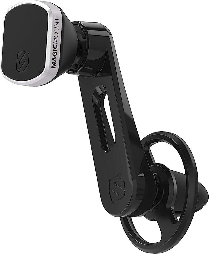 Scosche Mm2vp2sr Sp Magicmount Pro Universal Magnetische Freeflow Vent Mount Halterung Für Fahrzeuge Schwarz Auto
