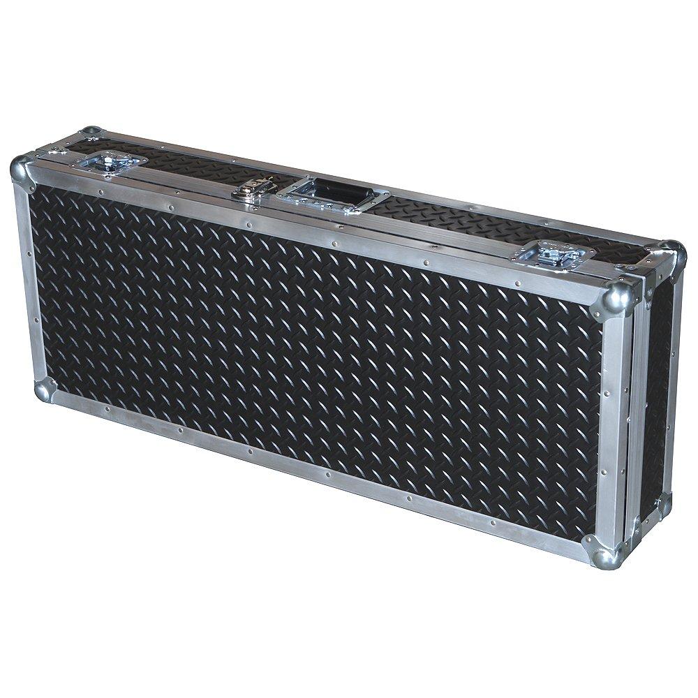 Keyboard 3/8 Ply Professional ATA Case with Diamond Plate Laminate Fits Roland Fa-06 61-key Music Workstation