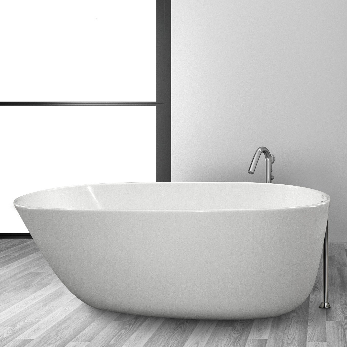 Hydro Systems DLA5830STO Daniela 5830 Freestanding Tub     Amazon com. Free Standing Tub Canada. Home Design Ideas