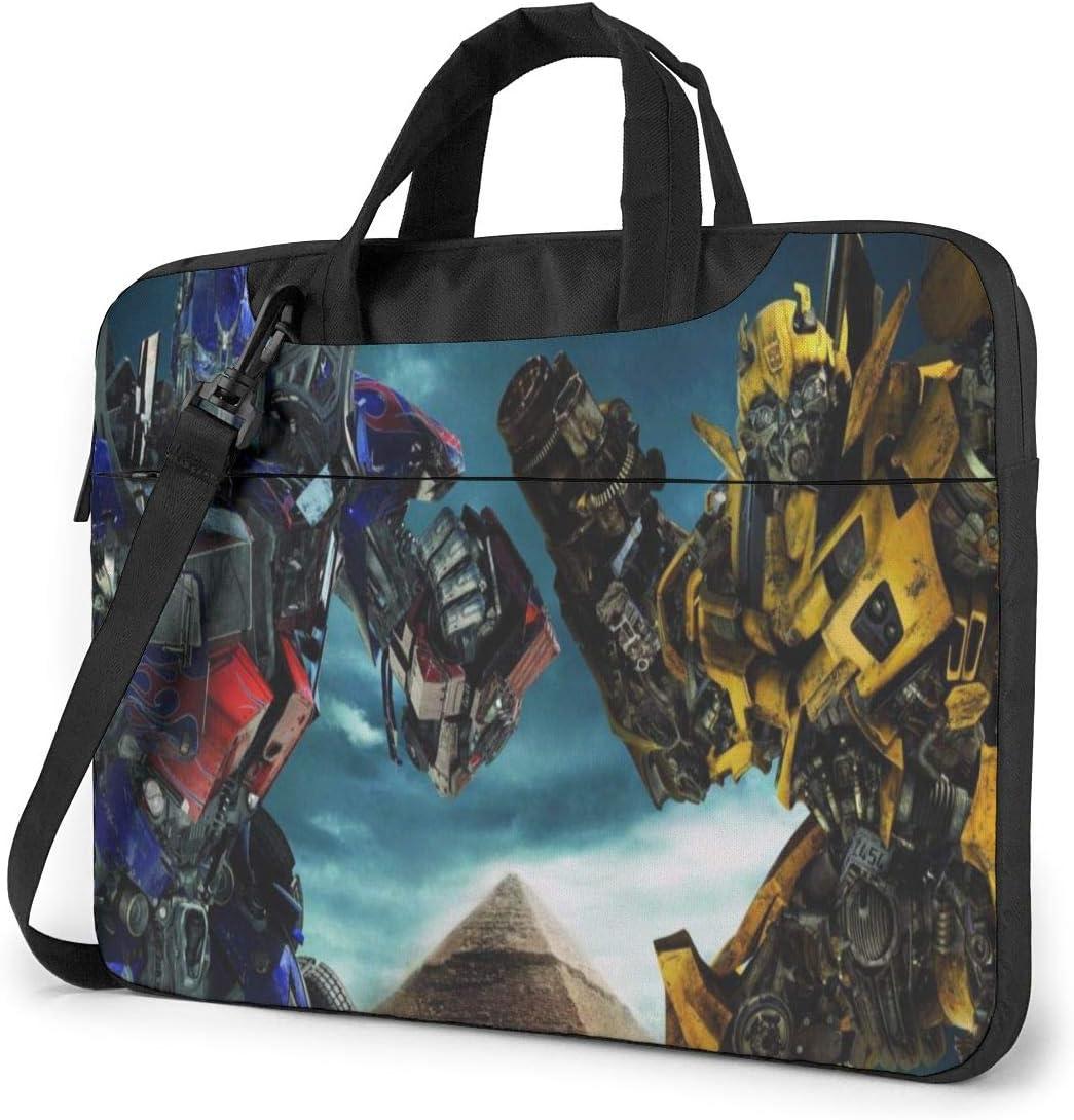 Transformers Optimus Prime Laptop Bag Laptop Sleeve Tablet Briefcase Ultraportable Oxford Cloth Protective Handbag -for MacBook Pro/MacBook Air/Notebook Computer 15.6 inch