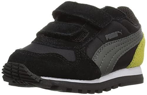 cc3af97865 PUMA Unisex-Kids ST Runner NL V, Puma Black-Dark Shadow, 1.5 M US ...