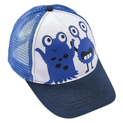 Amazon.com  La Vogue Toddler Monster Printed Sun Cap Mesh Baseball ... dd4a4085f72