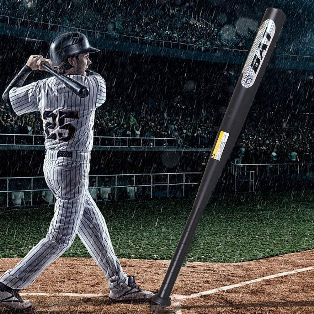 AYNEFY Batte de Baseball en Aluminium 81,3 cm avec Sac de Transport Noir