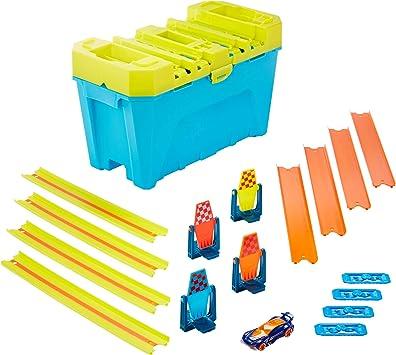 Hot Wheels Track Builder Ilimitado con Lanzador, Accesorios para Pistas de Coches de Juguete (Mattel GLC959: Amazon.es: Juguetes y juegos