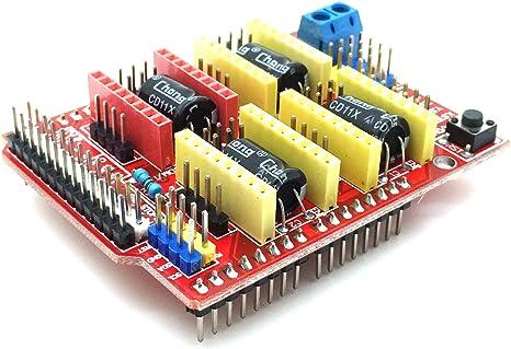 AptoFun CNC V3.0 - Placa de expansión (A4988 DRV8825) para ...