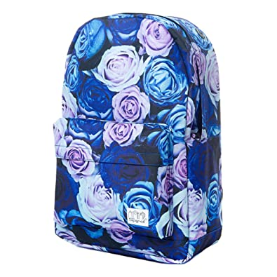 Spiral 21 Roses OG Backpack (Blue) 17x11.5x5.5