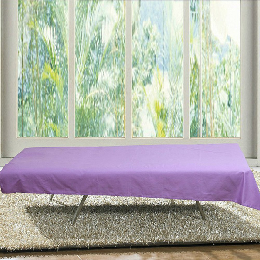 Beauty bed sheets,Multi-plain color bed cover waterproof anti-essential oil bedspreads hotel clubhouse single coverlet twin full-B 120x180cm(47x71inch)