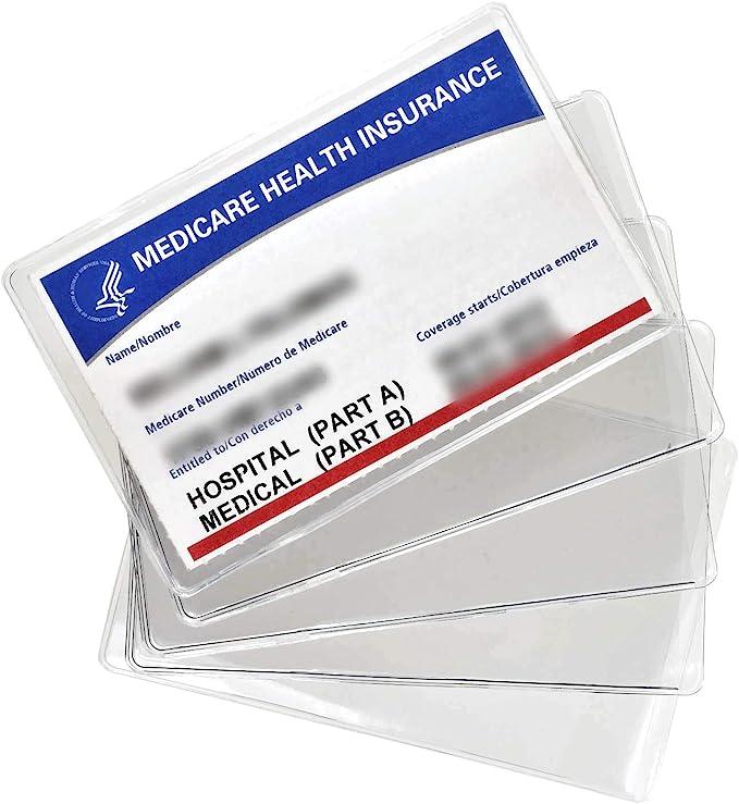 Amazon.com: Medicare - Fundas protectoras para tarjetas (5 ...