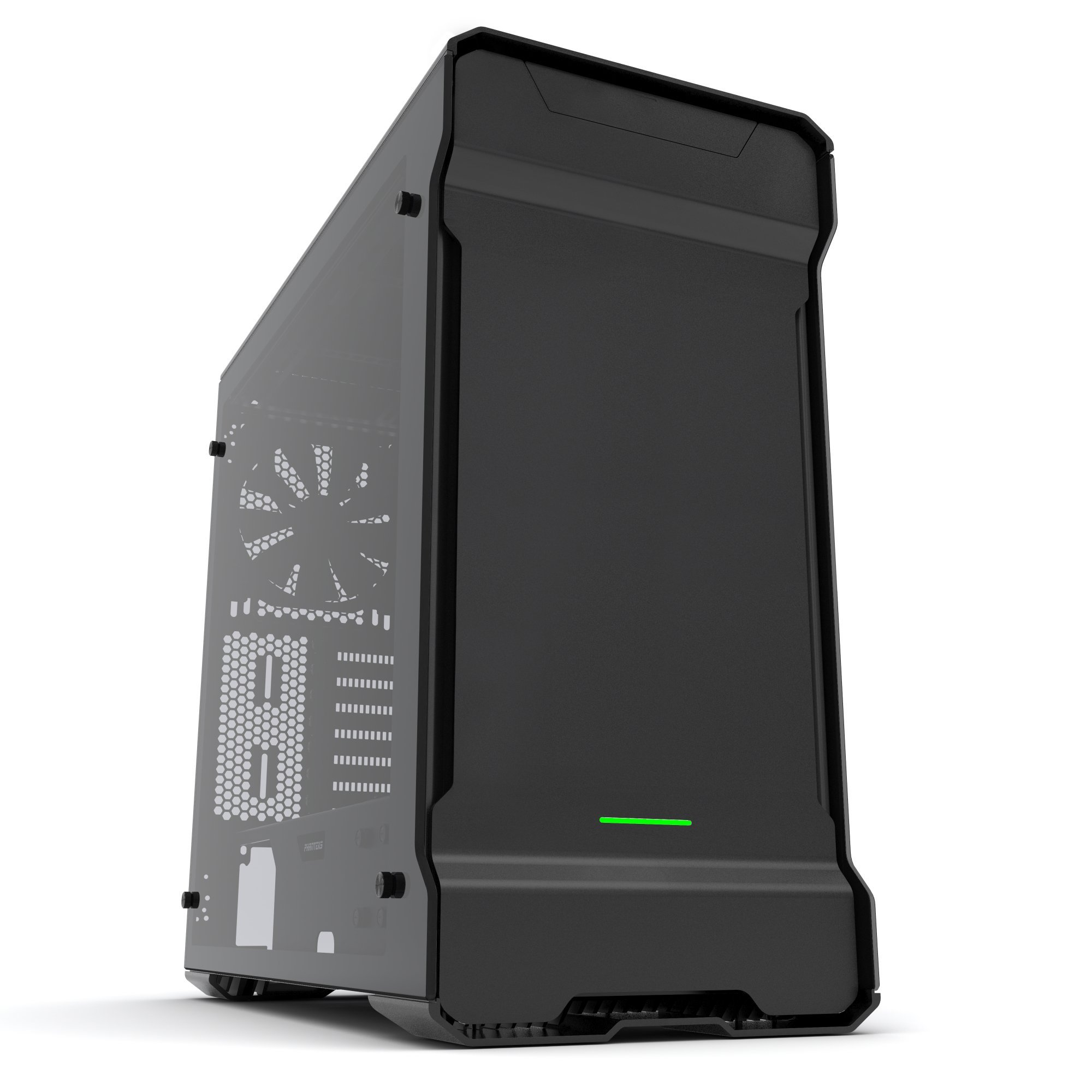 Phanteks Enthoo Evolv ATX Computer Case - Tempered Glass Edition, Satin Black PH-ES515ETG_BK by Phanteks