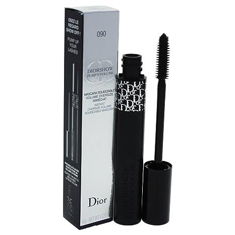 02d03739 DIOR Diorshow Pump 'N' Volume instant oversize volume squeezable mascara  090 Black Pump SIZE 0.21 oz/ 6 g