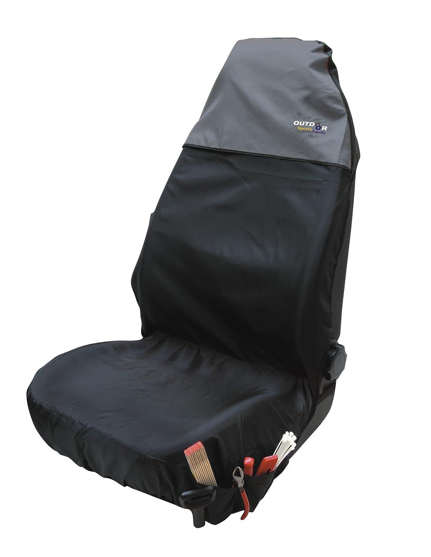 CTE # Sitzauflage Sitzschoner einzeln Outdoor grau