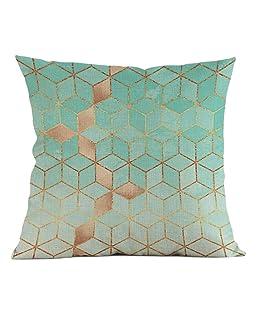 erthome Housse de coussin coloré Oxyde de Dazzling Hug Taie d'oreiller Maison Canapé Voiture Décoration Taie d'oreiller 45,7x 45,7cm et 45x 45cm, D, 18x18 inch & 45x45cm