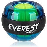 EVEREST FITNESS bola energética para el entrenamiento de la musculatura de la mano y carcasa de material plástico muy resistente    entrenador manual, giratoria