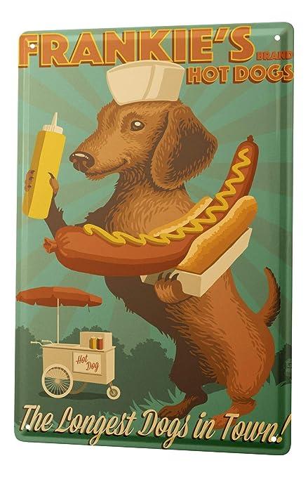 Tin Sign Breed Dachshund - - Amazon.com