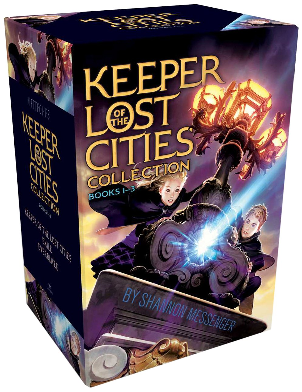 Keeper Of The Lost Cities Collection Books 13: Keeper Of The Lost Cities;  Exile; Everblaze: Shannon Messenger: 9781481451123: Amazon: Books