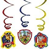 Amscan–999144–6Swirls Paw Patrol