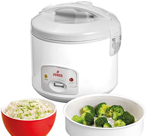 Judge Family Rice Cooker, White, 1.8 Litre