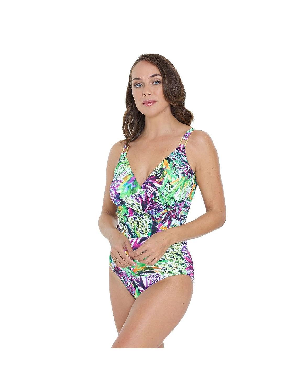 844f8fbd21c44 Seaspray Amazonite Long Length Draped Swimsuit: Seaspray: Amazon.co.uk:  Clothing