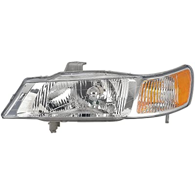 Dorman 1590502 Driver Side Headlight Assembly For Select Honda Models: Automotive