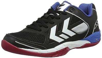 Chaussures Hummel Omnicourt vertes unisexe L0b6Iv4
