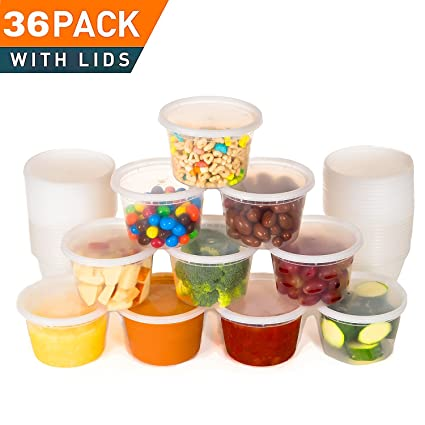 Best Deli Food Storage Containers With Lids. 16 Ounce Restaurant Take Out/ Freezer Containers  sc 1 st  Amazon.com & Amazon.com: Best Deli Food Storage Containers With Lids. 16 Ounce ...