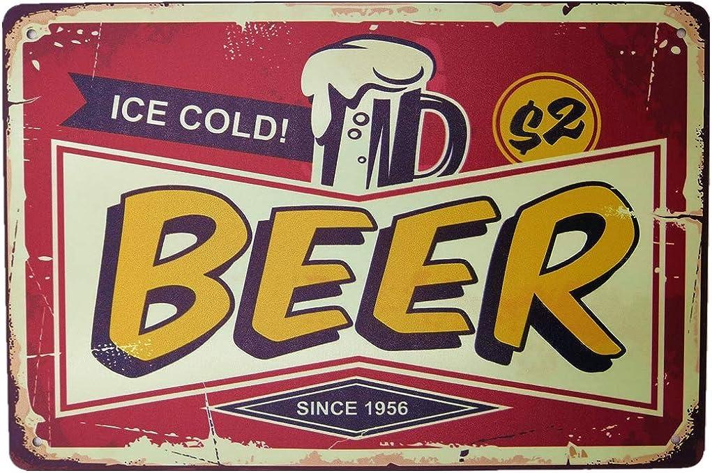 AIQIBAO Metal Vintage Tin Sign Decor-Barbecue Party for Bar Pub Shop Funny Retro Wall Art Sign 12 X 8