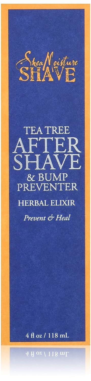 Best shaving cream for razor bumps - Shea Moisture Tea Tree After Shave & bump preventer