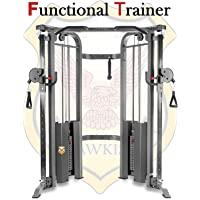 Hawkish Commercial Functional Trainer Cable Machine with 200 kg Weight Stacks (2X4-PIPE)