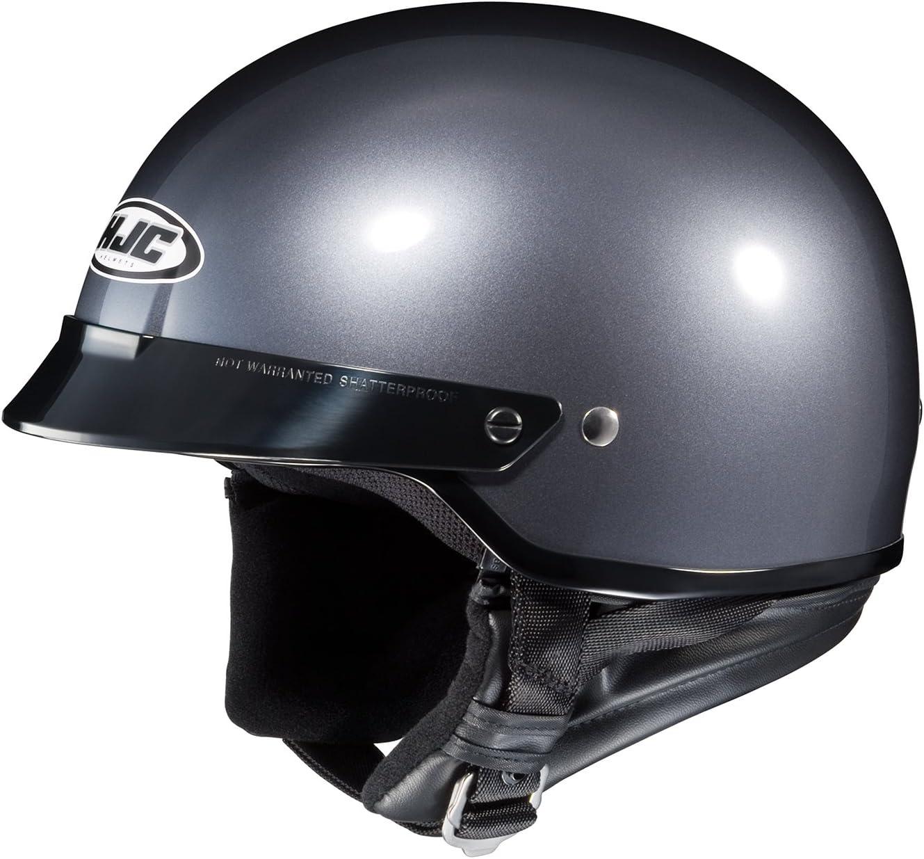 HJC CS-2N Motorcycle Half-Helmet White, X-Large